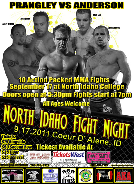 Northwest Fightscene Trevor Prangley Headlines North